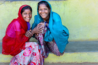 Friends - two Gulabganj village girls