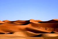 Sand Dunes of the Sahara Desert